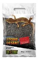 Stone Dessert grävsubstrat, Svart 5kg