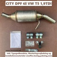 HJS CITY DPF VW T5 1.9TDI