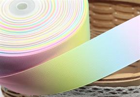Regnbuebånd 25mm