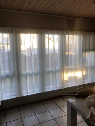 Skira gardiner i kök, Waveband. Mariestad