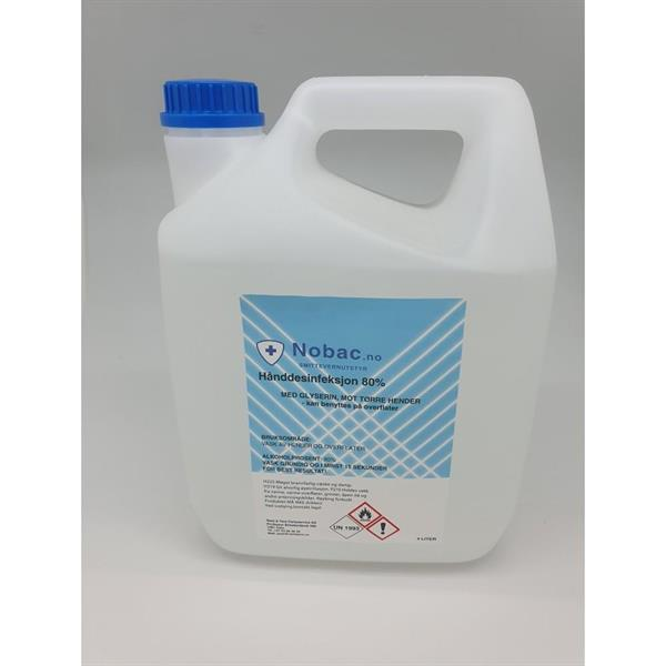 Antibac 4 liters kanne