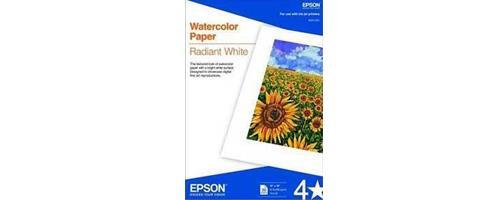 Epson Water Color Paper Radiant White A3+