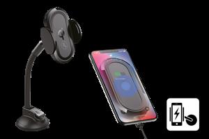 Mobilhållare med trådlös laddning