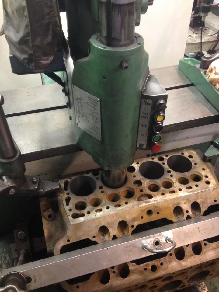 Borrning ford flathead