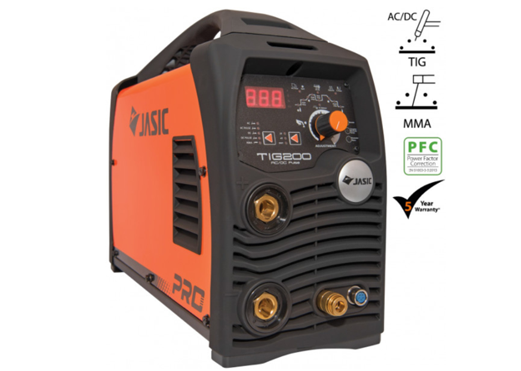 Jasic TIG 200 AC/DC Puls digital