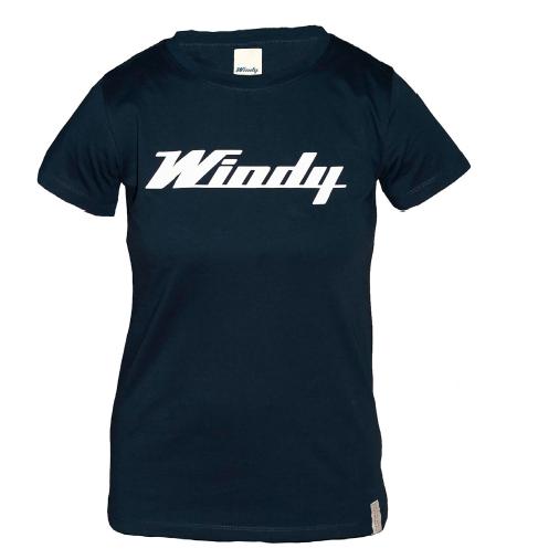 Windy Classic Tee Women - Navy