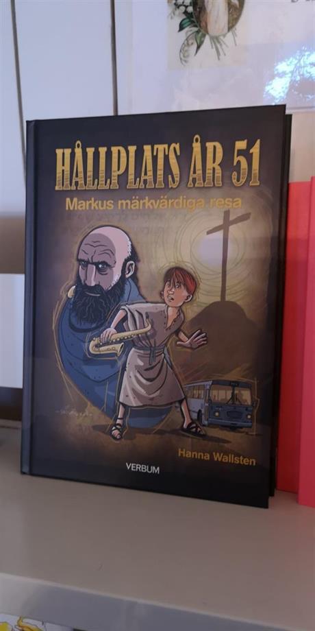 Ola har förra året illustrerat denna fina bok :)