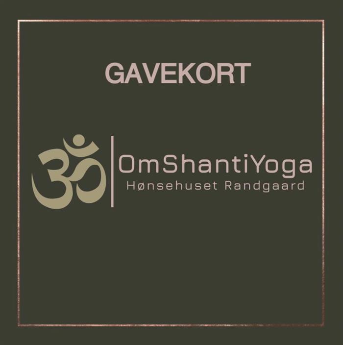 Gavekort på yoga til jul?