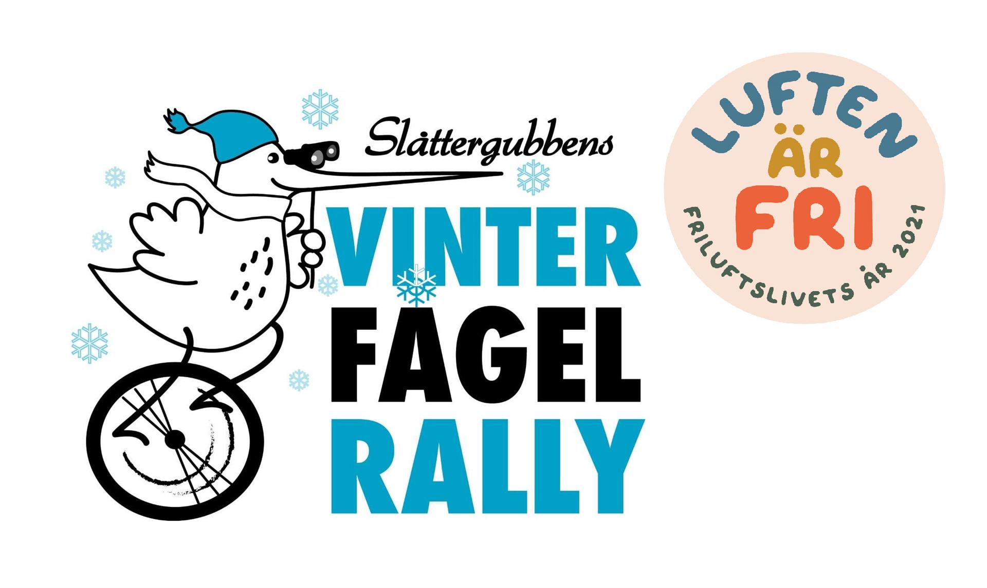 Logotyp för Slåttergubbens vinterfågelrally