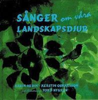 Sånger om våra landskapsdjur, bok+CD