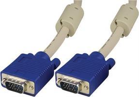 VGA kabel HD15M-HD15M HQ 10m L/B