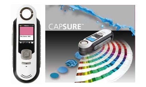 X-Rite CAPSURE fargeleser for RAL/NCS