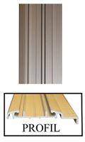 Dekorlist aluminium B=50 mm