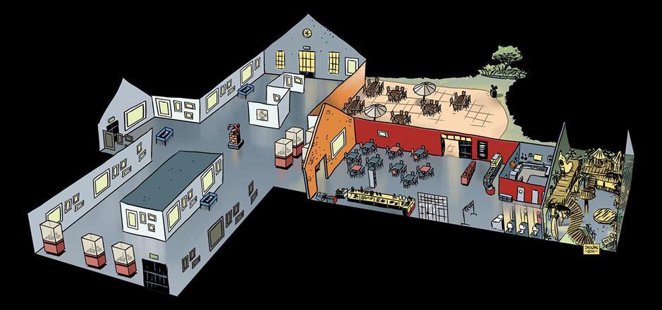Åbergs museum karta