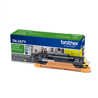 Brother TN-247Y high yield toner yellow