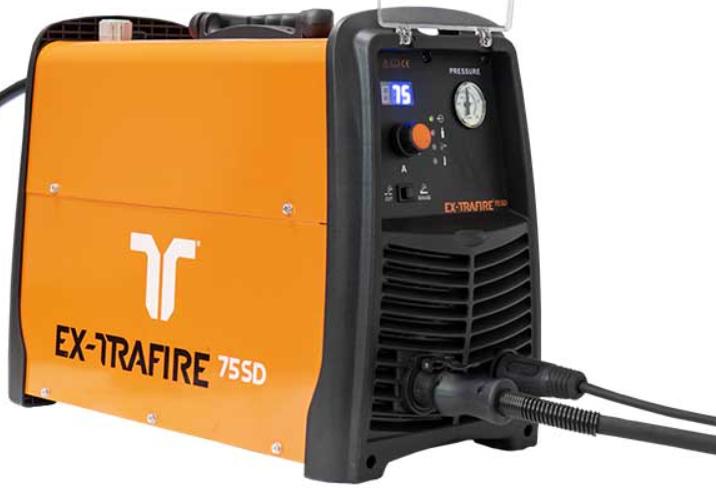 Plasmaskärmaskin EX-Trafire 75 SD