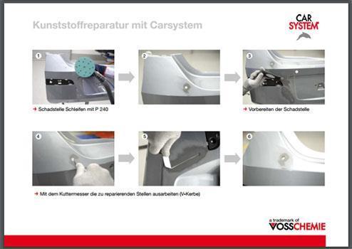 Plastreparasjoner Tutorial (tysk)