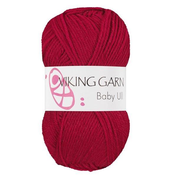 Viking Baby Ull Röd