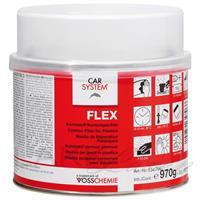 CS Flex elastisk sparkel for plast m/ herder 1kg