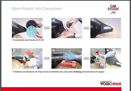 Spot-Repair Tutorial (tysk)