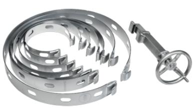 AMA Centreringsband Sats 150-500mm (7st) + spännare