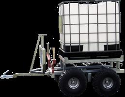 Kombivagn, vatten/timmervagn