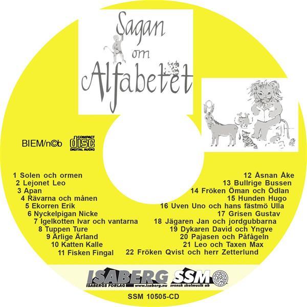 Sagan om Alfabetet, CD