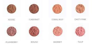 Youngblood crushed mineral blush adobe