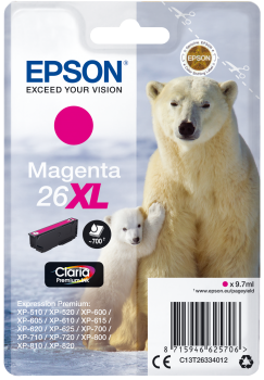 Epson 26XL Magenta