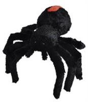 Spindel, svart med rött på bakkroppen, 30cm