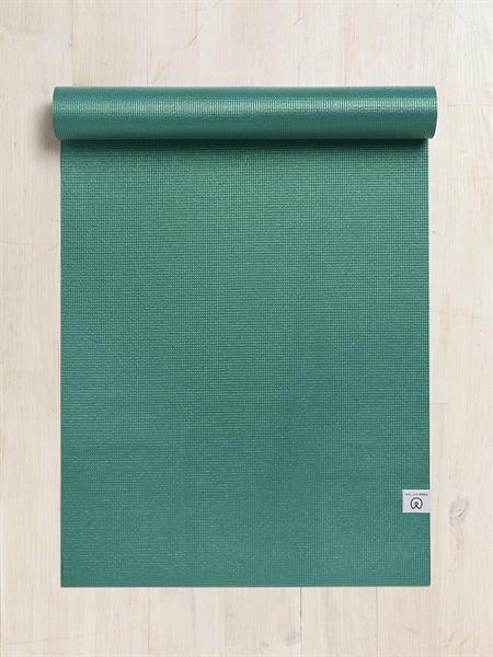 Sticky Yoga Mat, 4,5 mm, Yogamatters, BottleGreen