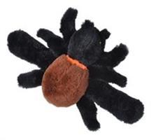 Spindel med armband och ögon som lyser i UV-ljus, 20cm