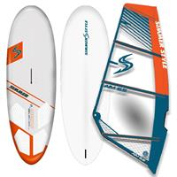 Windsurf pakke: Mission 135l + AIM rigg 5,5m2