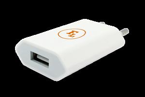 Vägguttag Enkel USB-port 230V
