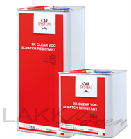 CS 2K Klarlakk-PAKKE-VOC Scratch Resistant 5+2,5l
