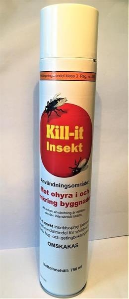 Kill it Insekt 750 ml
