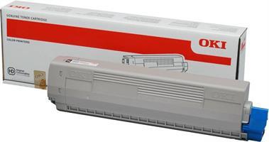 OKI C822 BK Toner
