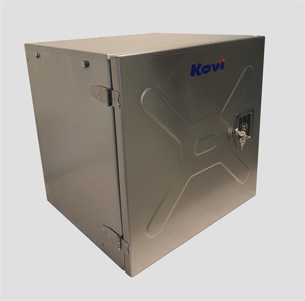Työkalulaatikko 600x600x540 Alumiinia 2mm merilaatu