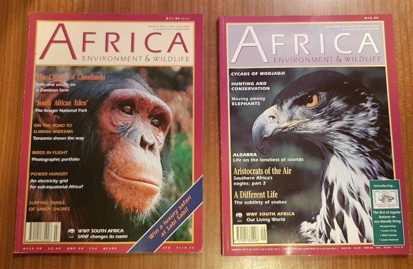 Afrika shimpans omslag
