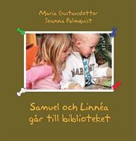 Samuel o Linnéa går till biblioteket