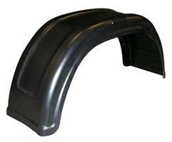 Skärm, plast, B=260 mm (hö/vä)