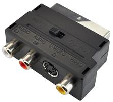 Scart Adap. video/audio A/D