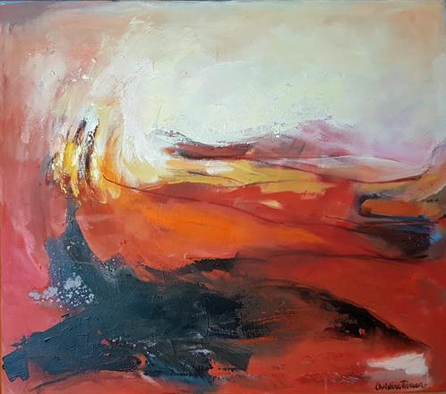 Längtan till Italien / 70x80cm / oil on canvas / Christine Friman