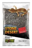 Stone Dessert grävsubstrat, Svart 10kg