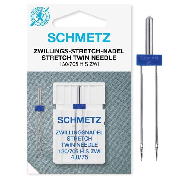 B. Schmetz stretch kaksoisneula 4mm