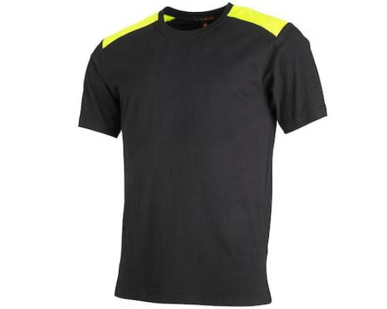 T-Shirt Svart/Hi-Vis