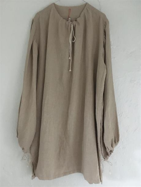Middelalderskjorte i lin str L