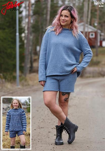 Shorts & tröja till dam & tonåring i Elise