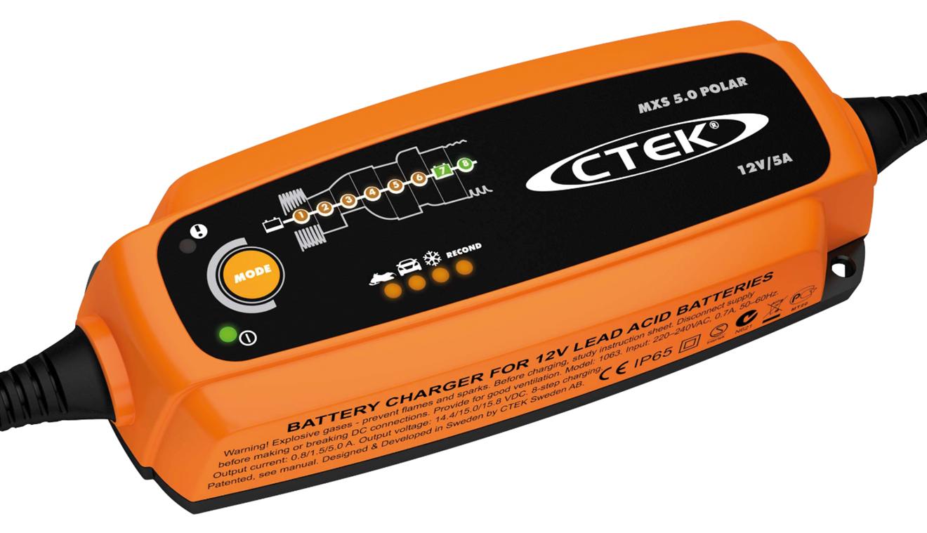 Batteriladdare Ctek MXS 5.0