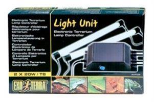Light unit 2x20 watt